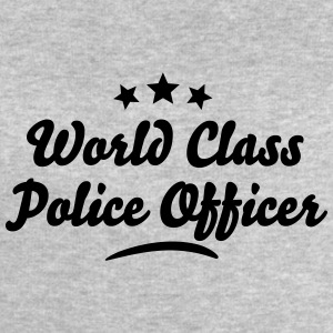 world class police officer stars - Men's Sweatshirt by Stanley & Stella