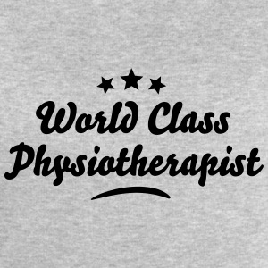 world class physiotherapist stars - Men's Sweatshirt by Stanley & Stella