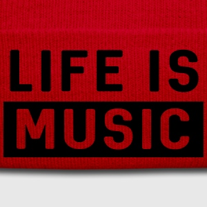 Life is Music T-Shirts - Winter Hat