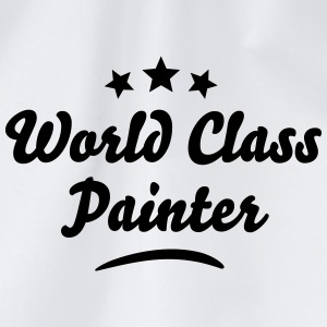 world class painter stars - Drawstring Bag