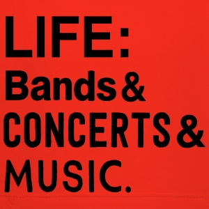 Life: bands, Concerts, and Music T-Shirts - Kids' Premium Hoodie