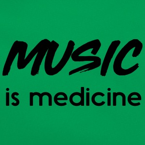 Music is medicine T-Shirts - Retro Bag