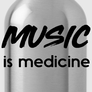 Music is medicine T-Shirts - Water Bottle