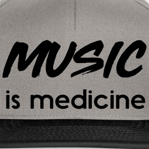 Music is medicine T-Shirts - Snapback Cap
