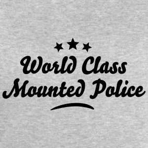 world class mounted police stars - Men's Sweatshirt by Stanley & Stella