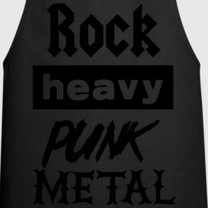 Rock Heavy Punk Metal T-Shirts - Cooking Apron