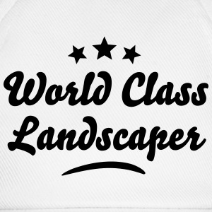 world class landscaper stars - Baseball Cap