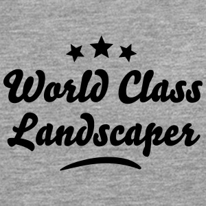 world class landscaper stars - Men's Premium Longsleeve Shirt