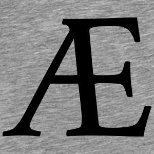 AE Symbol (ligature) Hoodies & Sweatshirts - Men's Premium T-Shirt