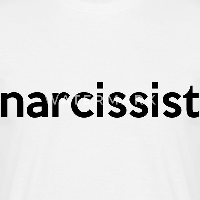 narcissist T-Shirts - Men's T-Shirt