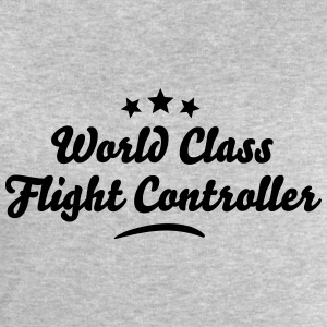 world class flight controller stars - Men's Sweatshirt by Stanley & Stella