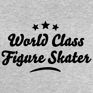 world class figure skater stars - Men's Sweatshirt by Stanley & Stella
