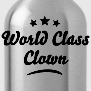 world class clown stars - Water Bottle