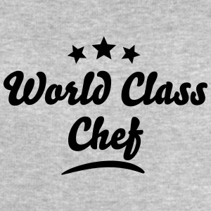 world class chef stars - Men's Sweatshirt by Stanley & Stella