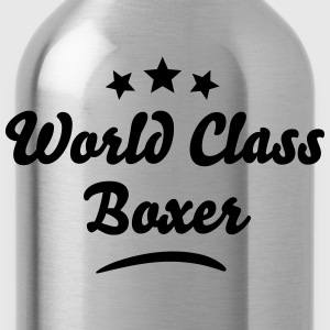 world class boxer stars - Water Bottle