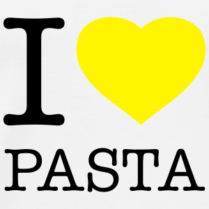 I LOVE PASTA - Premium T-skjorte for menn