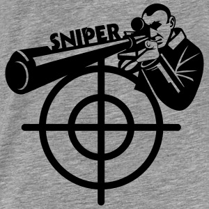 Sniper Art Hoodies & Sweatshirts - Men's Premium T-Shirt