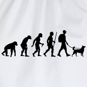Evolution Hiking WIth Dog T-shirts - Sportstaske