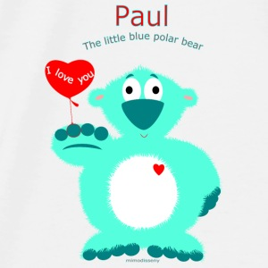 Paul Baby Bibs - Men's Premium T-Shirt