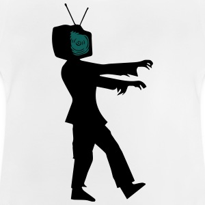 Television Zombie Shirts - Baby T-Shirt