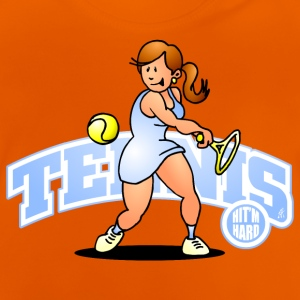 Tennis, Hit'm hard Shirts - Baby T-shirt