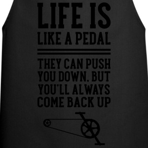 Cyclist | Life Is Like A Pedal T-shirts - Forklæde