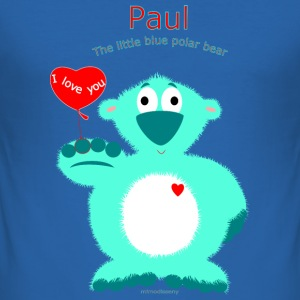 Paul Mjukdjur - Slim Fit T-shirt herr