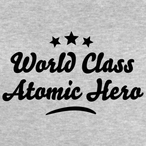 world class atomic hero stars - Men's Sweatshirt by Stanley & Stella