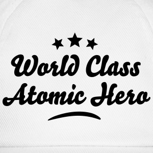 world class atomic hero stars - Baseball Cap