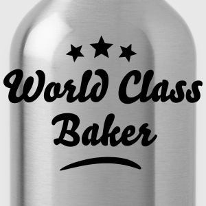 world class baker stars - Water Bottle
