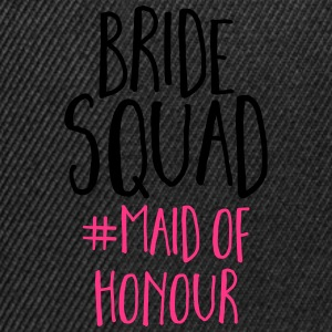 Bride Squad Maid Of Honour  T-Shirts - Snapback Cap