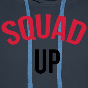 Squad up T-Shirts - Men's Premium Hoodie