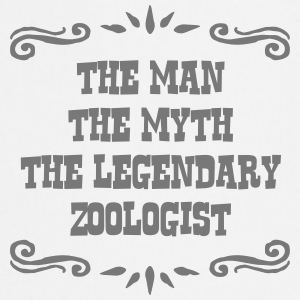 zoologist the man myth legendary legend - Cooking Apron