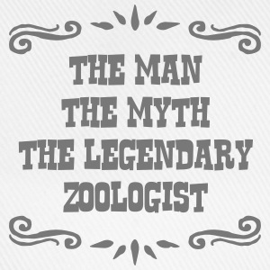 zoologist the man myth legendary legend - Baseball Cap