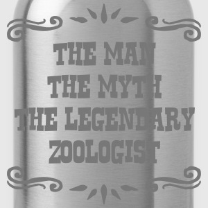 zoologist the man myth legendary legend - Water Bottle