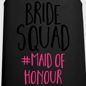 Bride Squad Maid Of Honour  Topper - Kokkeforkle
