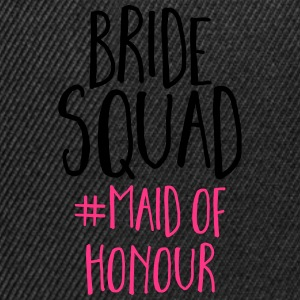 Bride Squad Maid Of Honour  Topper - Snapback-caps
