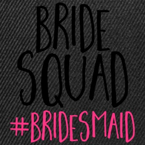 Bride Squad Bridesmaid  Tops - Snapback Cap
