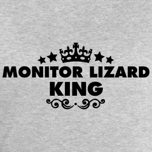 monitor lizard king 2015 - Men's Sweatshirt by Stanley & Stella