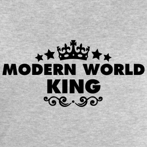 modern world king 2015 - Men's Sweatshirt by Stanley & Stella