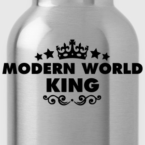 modern world king 2015 - Water Bottle
