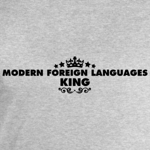 modern foreign languages king 2015 - Men's Sweatshirt by Stanley & Stella