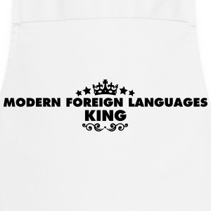 modern foreign languages king 2015 - Cooking Apron