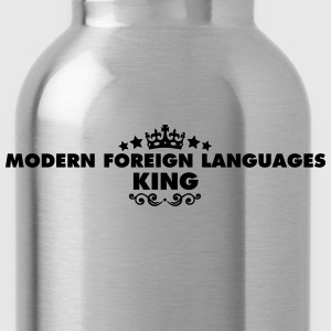 modern foreign languages king 2015 - Water Bottle