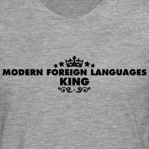 modern foreign languages king 2015 - Men's Premium Longsleeve Shirt