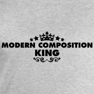 modern composition king 2015 - Men's Sweatshirt by Stanley & Stella