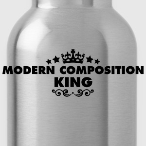 modern composition king 2015 - Water Bottle