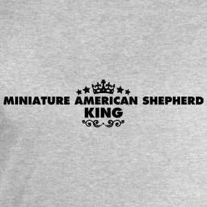 miniature american shepherd king 2015 - Men's Sweatshirt by Stanley & Stella