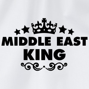 middle east king 2015 - Drawstring Bag