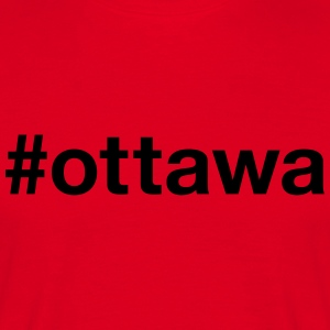 OTTAWA - T-skjorte for menn